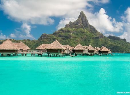 我的天啊!這是什麼藍?!|藍色的誕生之地:波拉波拉島