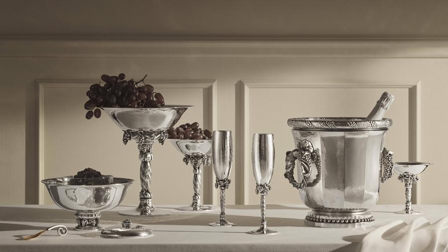 開一場皇室風格的酒會 喬治傑生推出嶄新銀器作品,為平淡生活帶來滿滿儀式感