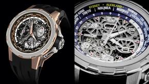 輕鬆轉動 閱讀世界時區|RICHARD MILLE打造最便利的世界時區腕錶