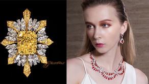 冷靜與熱情之間|妝點獅子座女王最熾烈也最冷豔的 GLAMOUR 珠寶