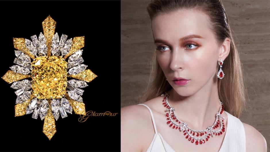 冷靜與熱情之間 妝點獅子座女王最熾烈也最冷豔的 GLAMOUR 珠寶