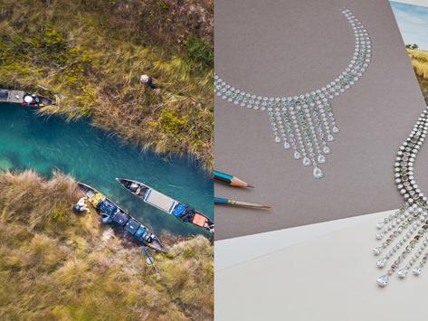 保育系珠寶留下珍貴地景|DE BEERS 與國家地理協作保育永續生計