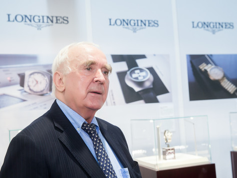 與時俱進  專訪LONGINES浪琴表總裁Walter von Känel 先生