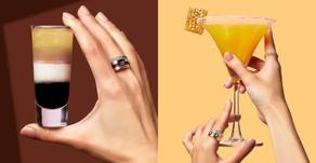Cheers Quatre! 啜飲一口金燦迷人珠寶!