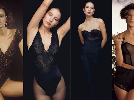 黑蕾絲致敬80年代性感 LA PERLA 全新奢華膠囊系列
