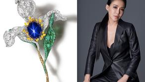 花精靈胸針榮獲英國倫敦藝博會大獎|CINDY CHAO The Art Jewel  三度獲獎