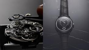 如黑色夜空一道驚雷閃光| 香奈兒 Monsieur de Chanel 大理石腕錶