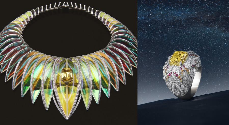 散發光芒萬丈|頂級珠寶以絕美工藝詮釋「光」的概念,絢麗到令人睜不開眼!