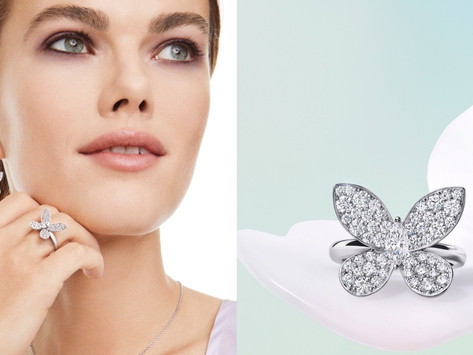 如蝶翩翩  青春有妳|人生中第一件格拉夫珠寶