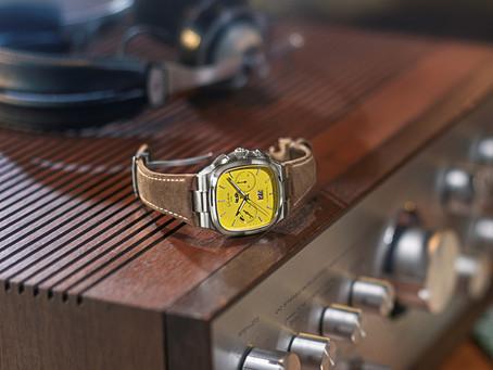 回溯時光,重返70年代 格拉蘇蒂原創全新限量計時腕錶