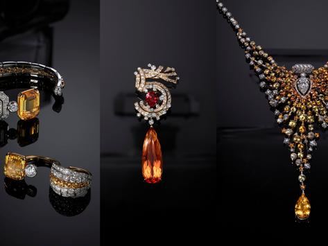 綿延黃色寶石潑灑滴滴花香|CHANEL 香奈兒 N°5頂級珠寶系列