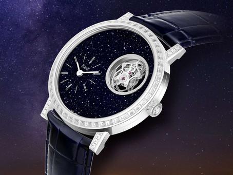 迷人的星海奇蹟 伯爵全新Altiplano系列砂金石面盤陀飛輪腕錶