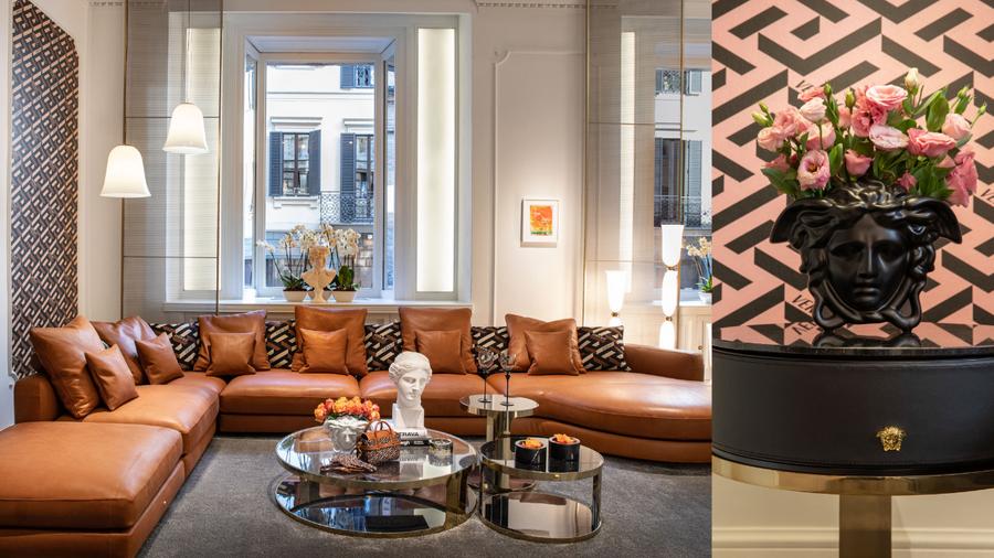 當時尚遇上建築  VERSACE HOME 米蘭設計週銳勢登場