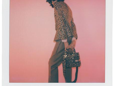 那腰細腿長的優雅豹女郎|DIOR MIZZA 豹紋系列