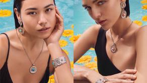 銀彩雛菊  繽紛嬌點|BUCCELLATI 推出 Blossoms Colour 系列新作
