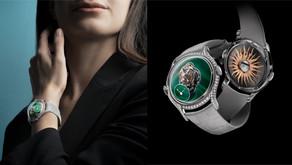 美得嬌豔 綠得細膩|顏值超高的孔雀石面盤珠寶錶大點名!