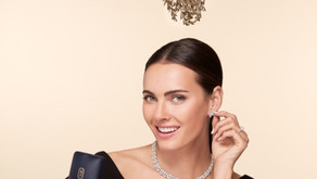 鑽石之王海瑞溫斯頓  以槲寄生幸福花環之門陪您度過浪漫璀璨平安夜!