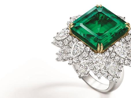 殿堂級祖母綠震撼登場 海瑞溫斯頓獻上珍貴祖母綠珠寶作品