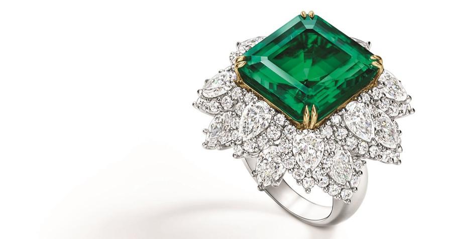 殿堂級祖母綠震撼登場|海瑞溫斯頓獻上珍貴祖母綠珠寶作品