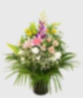 葬儀向け宅配供花の洋花アレンジ
