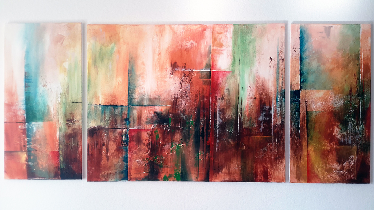 Art abstrait Fribourg Sabrina Tanase