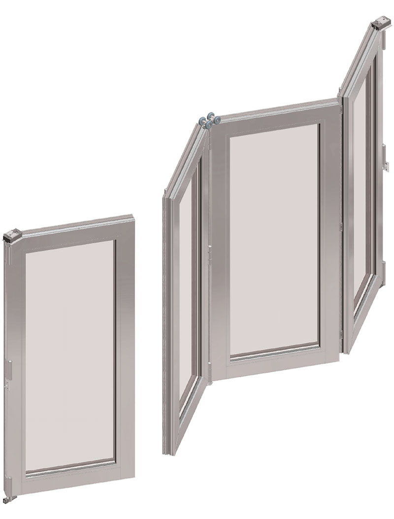 Bi-Fold-Door-Drawing