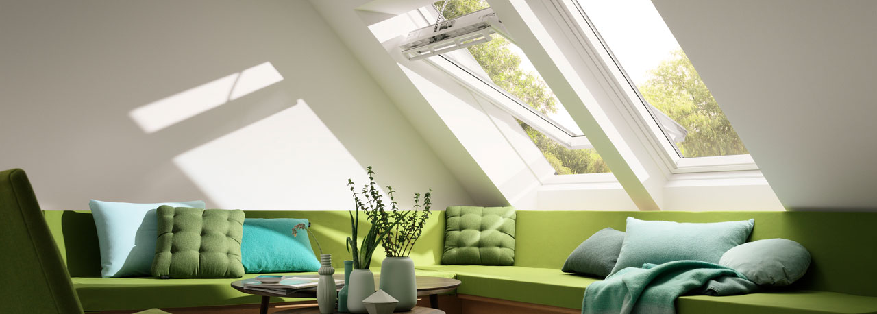 VELUX Center Pivot Roof Window