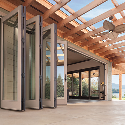 Big Doors Extended Folding Outswing