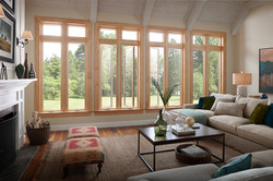 Essence Series Picture Over Double Casement Window