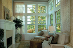 Ultra Series Single Hung and Picture Windows Colonial Grids