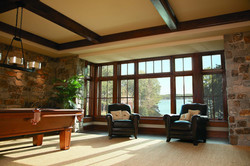 A-Series Casement Picture Window With Transom