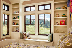 Essence Series Picture and Casement Window With Colonial Grids