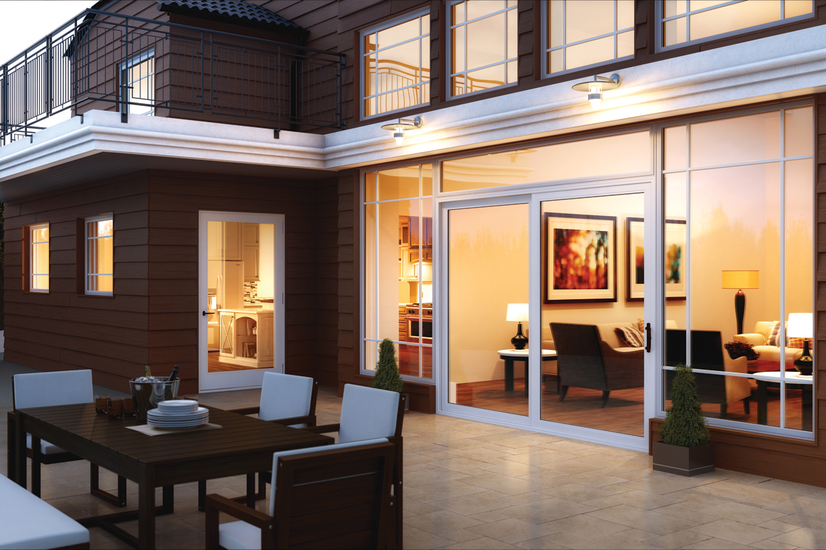 Ultra Series Picture Windows And 2-Panel Sliding Patio Door