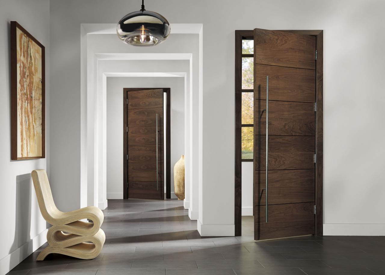 TMIR6000 Doors in Walnut