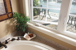 Tuscany Series Close Up On Casement window Opening