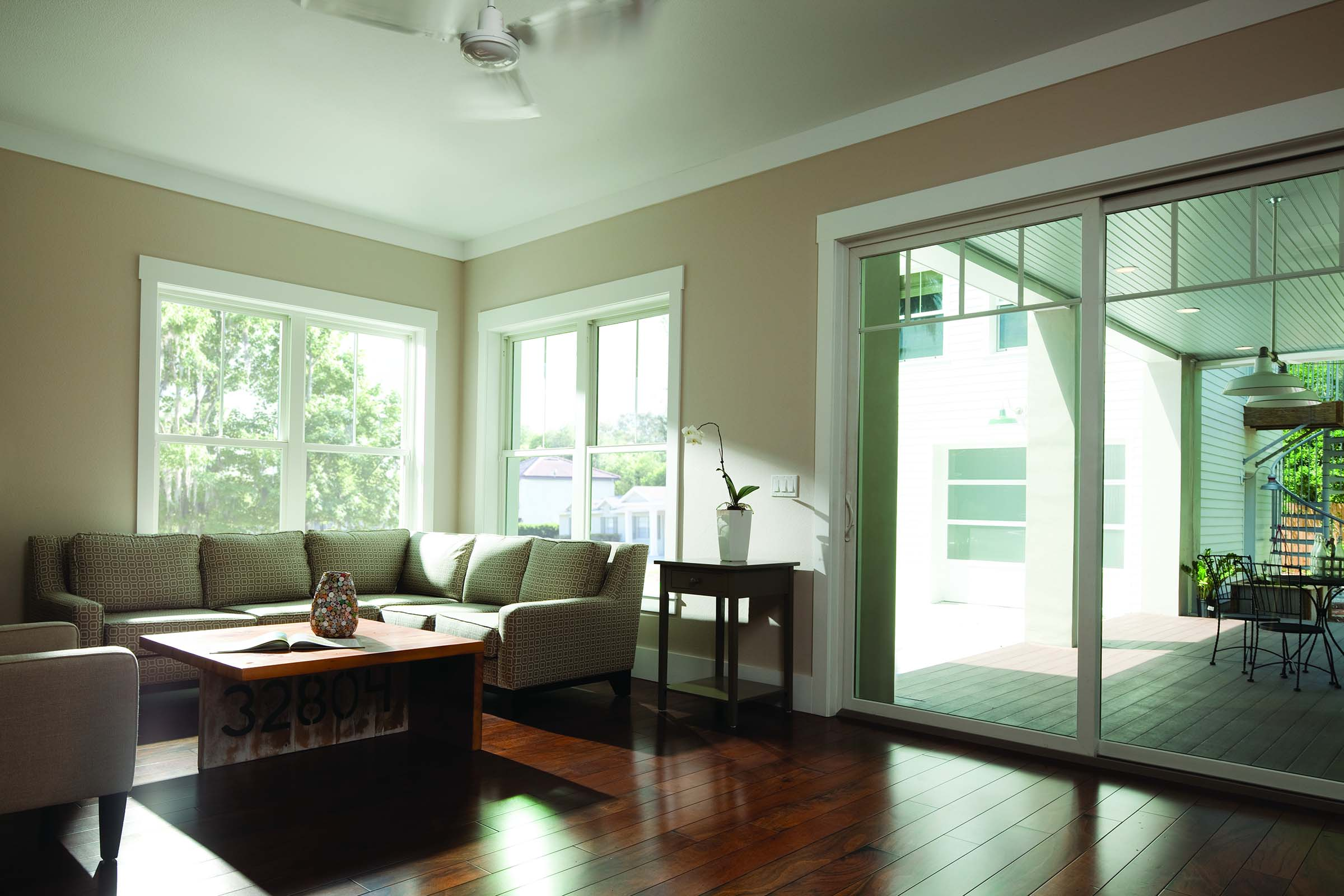 100 Series Gliding Patio Door-Single Hung Window