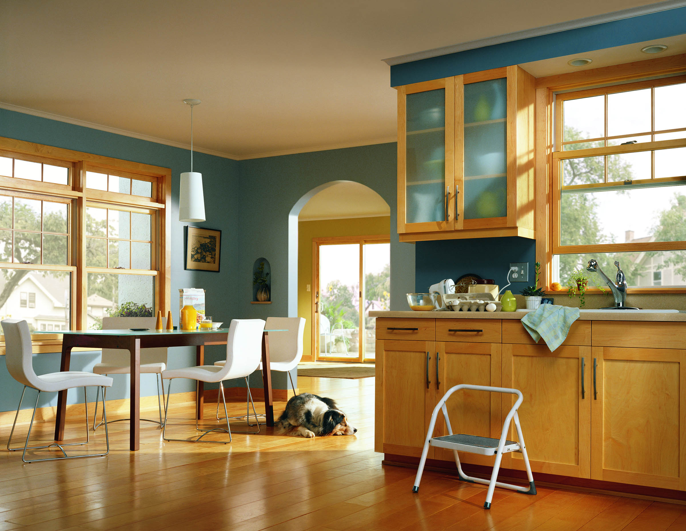 200 Series Tilt-Wash Double-Hung windows