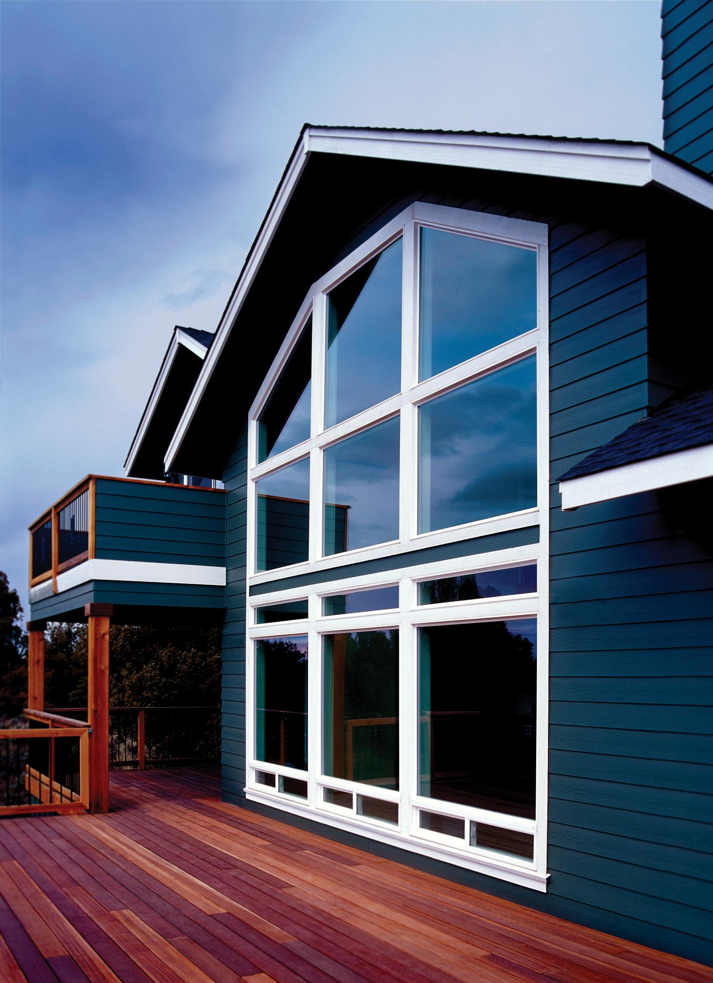 BUILDERS VINYL FIXED WINDOW EXTERIOR