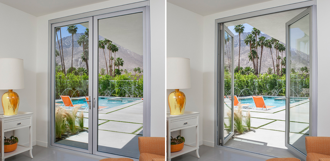 La Cantina Swing Door Aluminum Thermally Controlled
