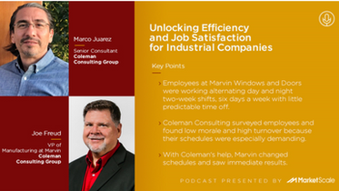 Unlocking Efficiency and Job Satisfaction at Marvin Windows
