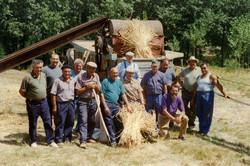 Battages 1996 (Champ à Micheline)
