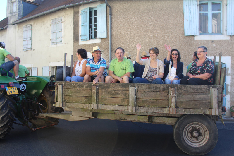Battages Antigny 2017 (Défilé)