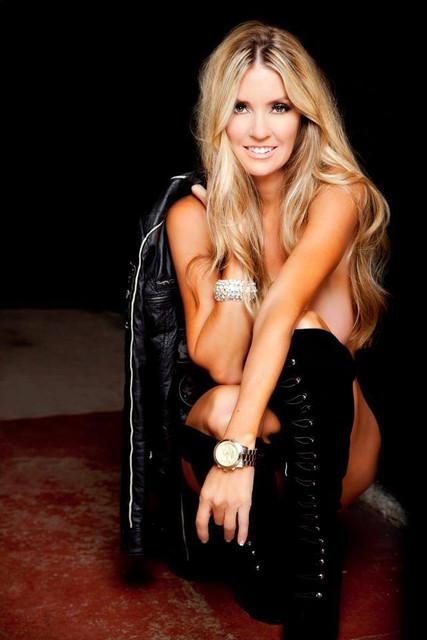 Jodie Fisher Playboy Shoot