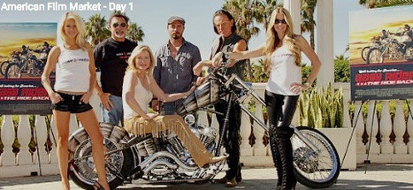 Jodie Fisher in Easy Rider 2: The Ride Home - Jodie Fisher standing on right