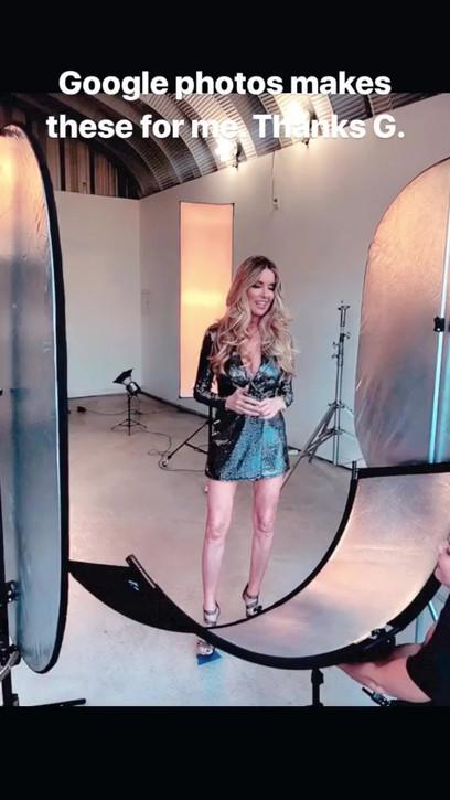 Jodie Fisher behind the scenes headshot shoot