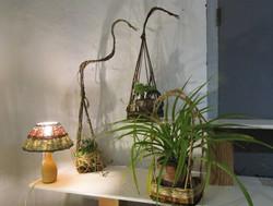 porte plante fond Galicien