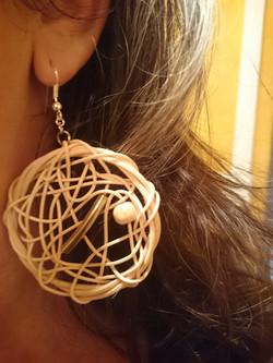 Boucles d'oreilles ronde