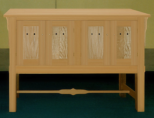 Mission Style Solid Wood Sideboard
