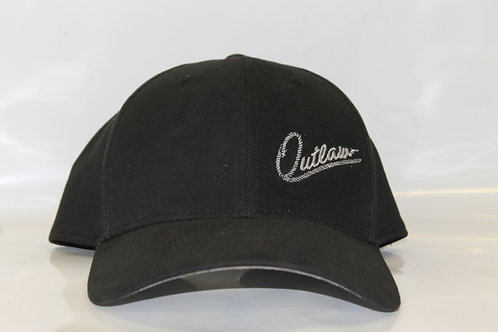 Outlaw Hat Small Logo Charcoal