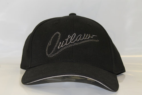 Outlaw Hat Large Logo Charcoal